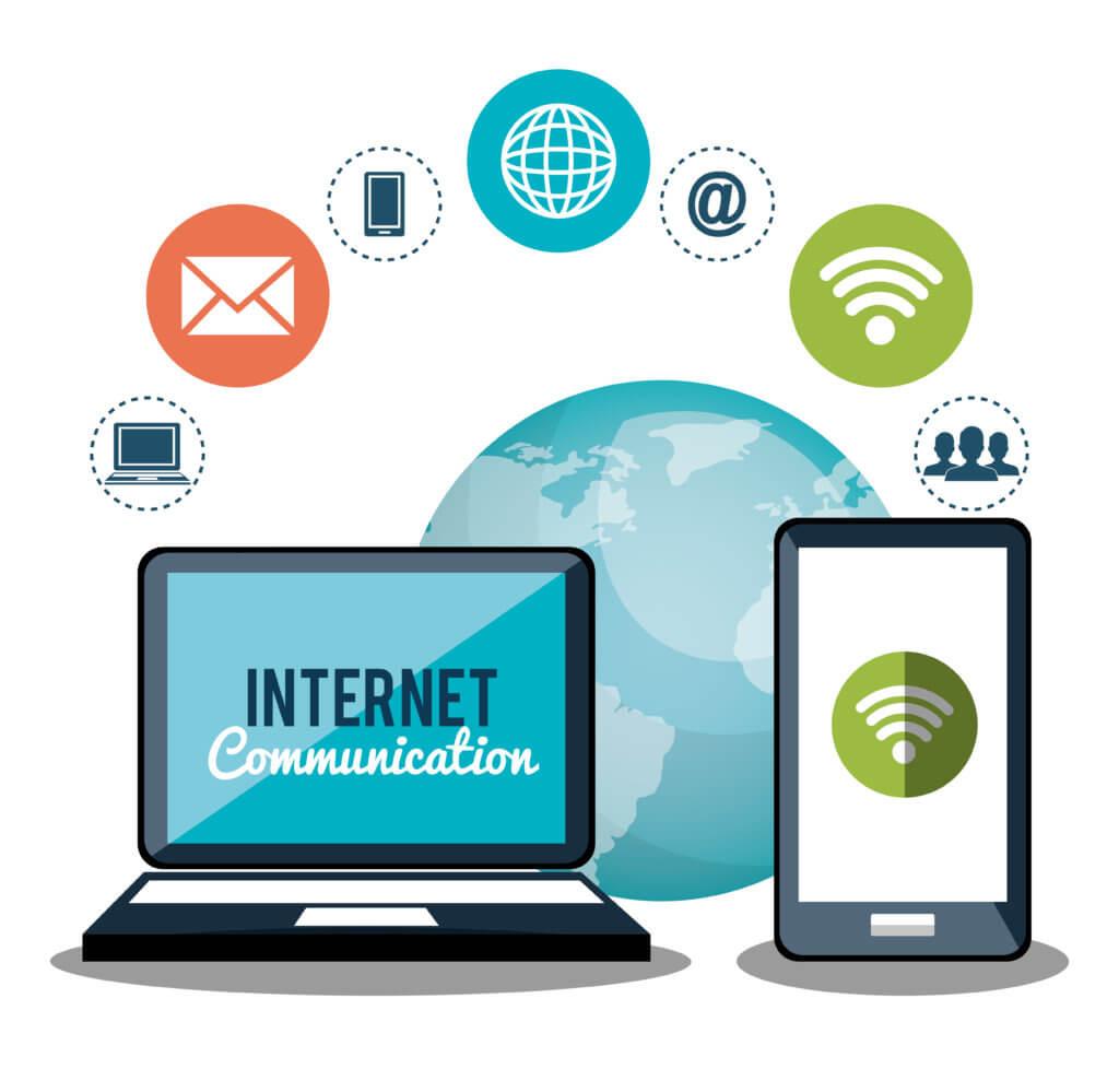 social media presence, online communication